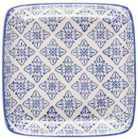 Talerzyk CASABLANCA - niebieski | talerze-talerzyki |