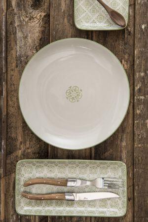 Talerzyk CASABLANCA - zielony | talerze-talerzyki |