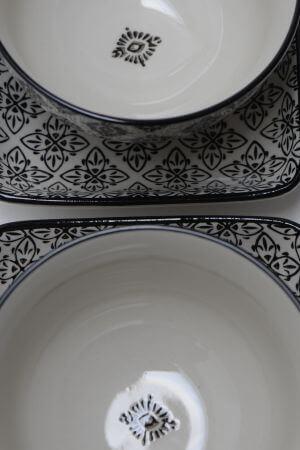 Talerzyk CASABLANCA - czarny | talerze-talerzyki |