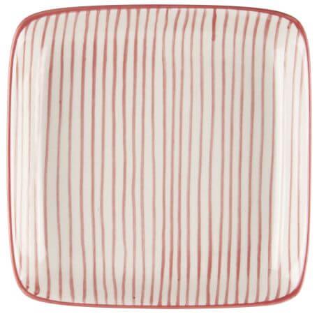 Talerzyk CASABLANCA - czerwony | talerze-talerzyki |