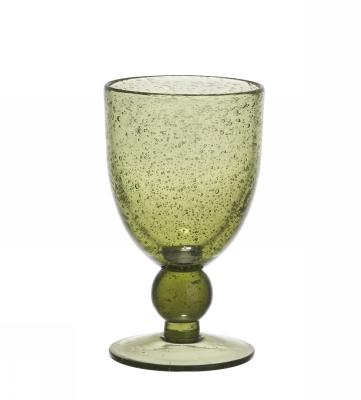 Kieliszek do wina VICTOR - zielony | szklanki-i-kieliszki |