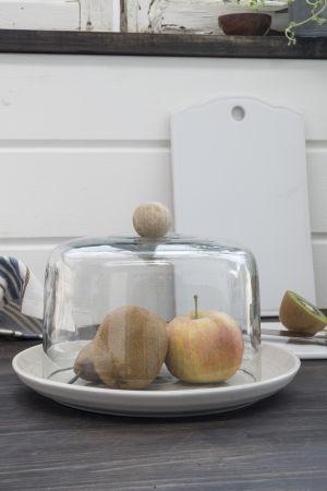 Talerz TIDE - biały | talerze-talerzyki |