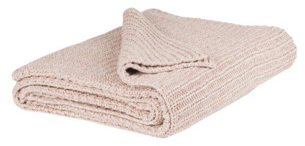 Narzuta JASNORÓŻOWA | koce-poduszki-pledy |