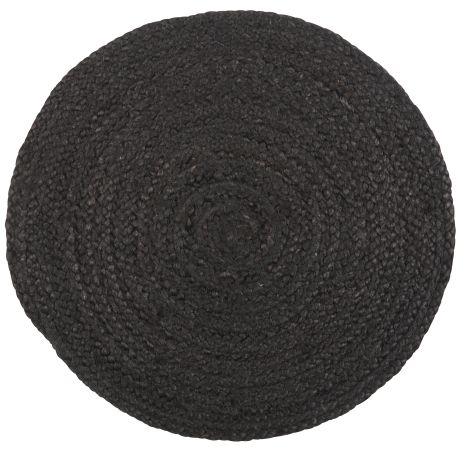 Podkładka pod talerz - czarna   dodatki  