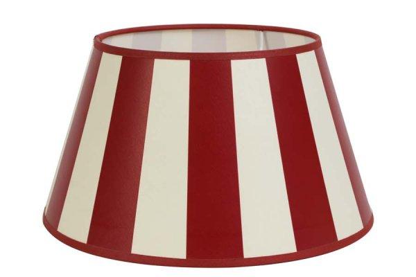 Abażur KING - czerwony | lampy-zyrandole-abazury |