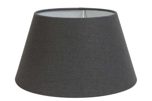 Abażur LIVIGNO - ciemnoszary | lampy-zyrandole-abazury |