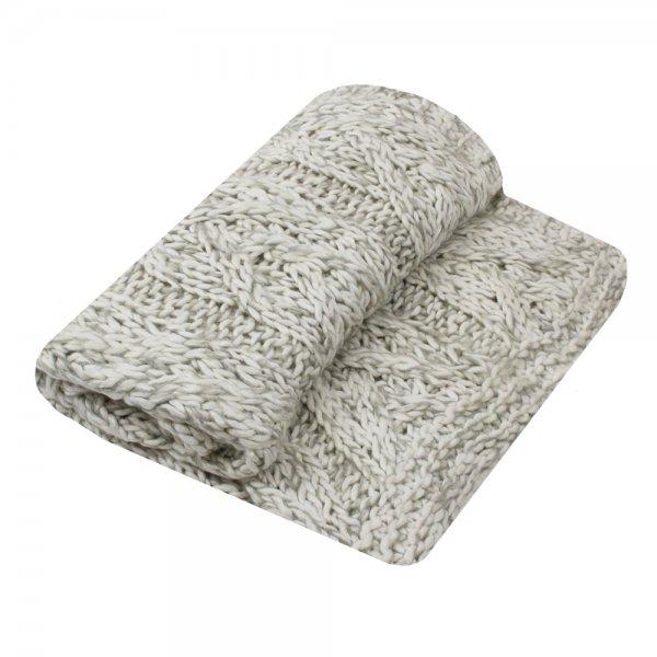 Narzuta KNITTED 170/130 | koce-poduszki-pledy |
