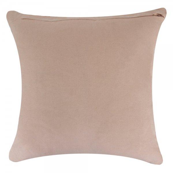 Poduszka GYPSY - różowa 45/45 | koce-poduszki-pledy |