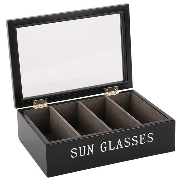 Pudełko na okulary - czarne | dodatki |