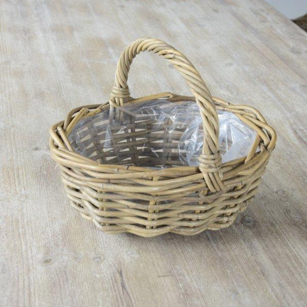 Koszyk rattanowy - mały | koszyki-kosze-wianki |