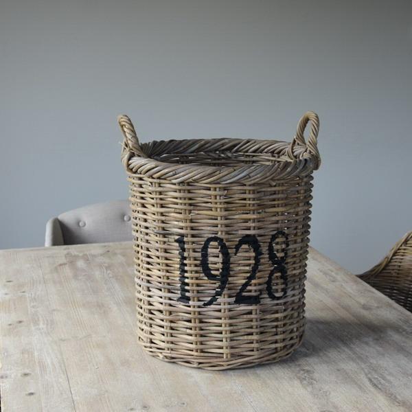 Kosz rattanowy 1928 - mały | koszyki-kosze-wianki |