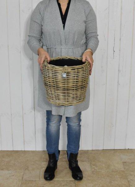 Donica rattanowa - mała   koszyki-kosze-wianki  