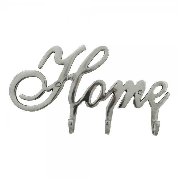 Wieszak HOME - srebrny | dodatki |