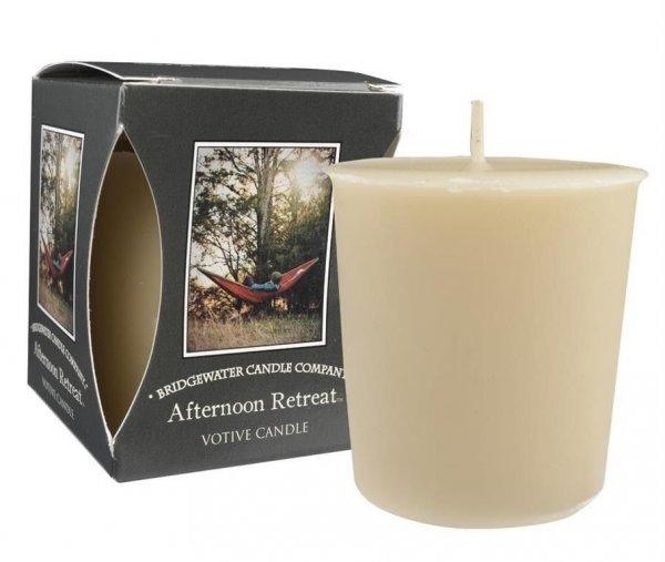 Świeca zapachowa VOTIVE AFTERNOON RETREAT 56g,   dodatki  