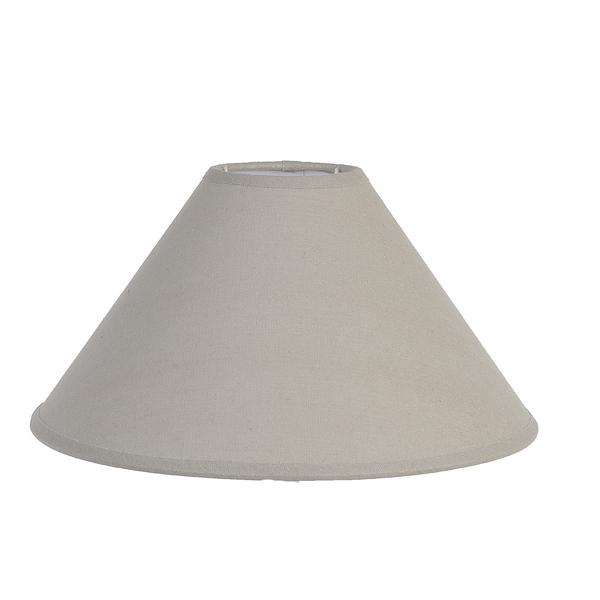 Abażur - szary | lampy-zyrandole-abazury |