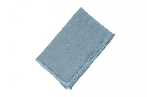 Bieżnik lniany - ciemnoniebieski 45/150 | obrusy-serwety-serwetki |