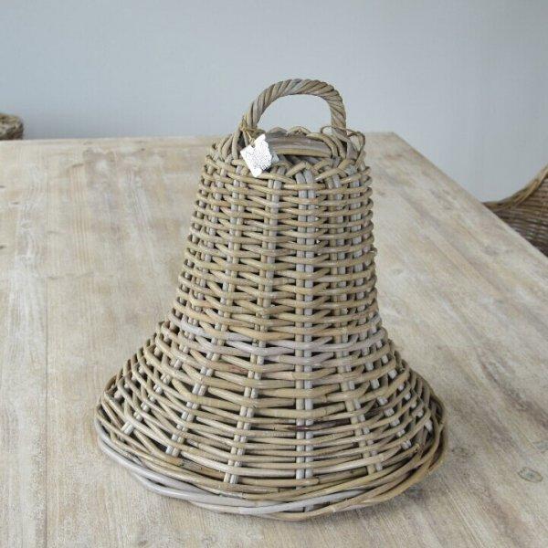 Dzwon rattanowy - dekoracyjny | dodatki |