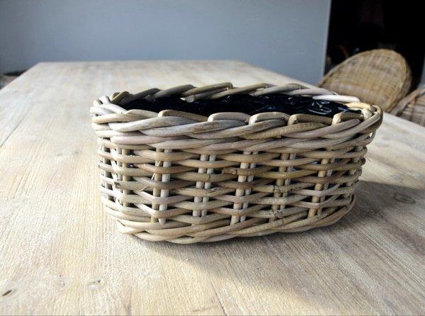 Koszyczek rattanowy - owalny | koszyki-kosze-wianki |