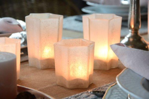 Komplet świeczników TWINKLE | boze-narodzenie |