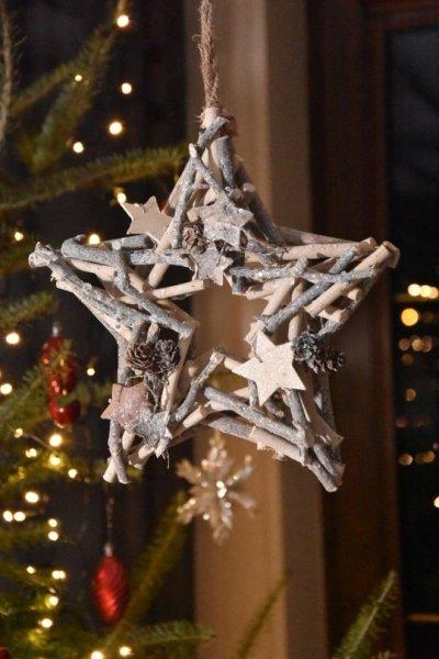 Gwiazda dekoracyjna | boze-narodzenie |
