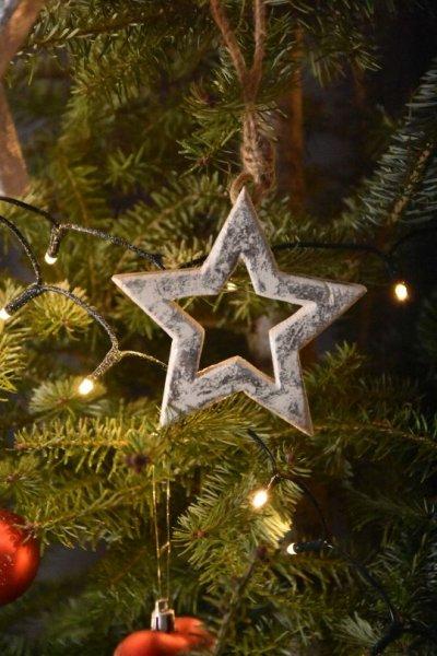 Zawieszka Gwiazda - mała   boze-narodzenie  