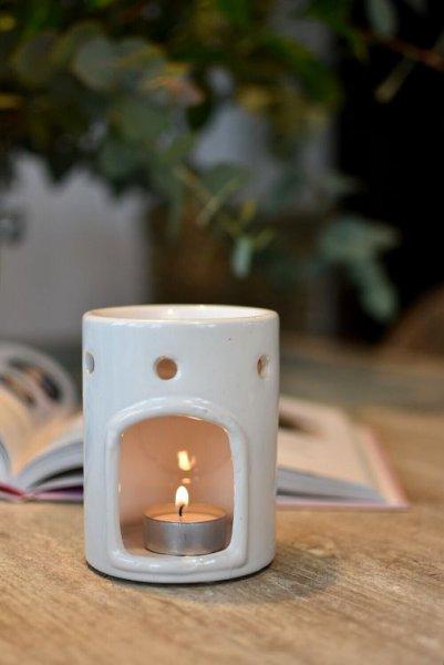 Podgrzewacz BRIDGEWATER CANDLE do świec i wosków - biały | dodatki |