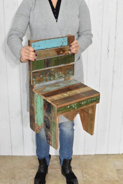 Krzesełko drewniane - małe   stoly-stoliki-krzesla-fotele  