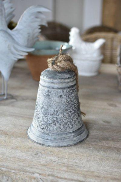 Dzwonek blaszany we wzorki - duży | dodatki |