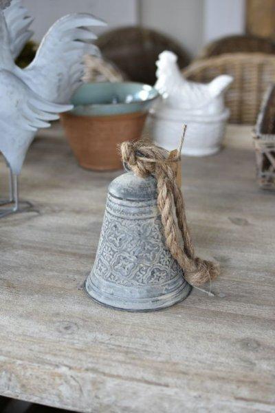Dzwonek blaszany we wzorki - mały | dodatki |
