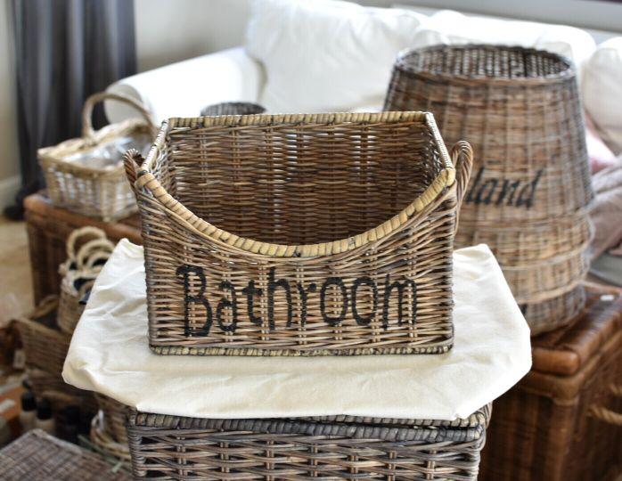 Kosz Rattanowy Do łazienki Bathroom Mały