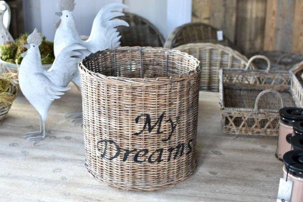 Abażur rattanowy My Dreams - średnica 32cm, | lampy-zyrandole-abazury |