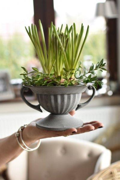 Doniczka na kwiatuszki - 10cm, | dodatki |