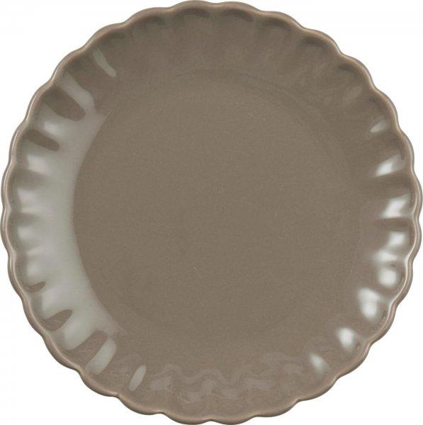 Talerz Mynte Milky Brown Ib Laursen | talerze-talerzyki |