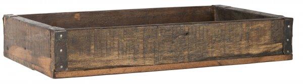 Taca drewno/metal UNIQUE | misy-patery-tace |