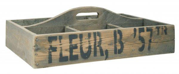 Taca drewniana z przegrodami | misy-patery-tace |