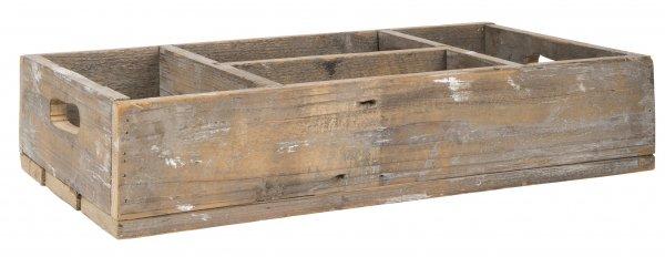 Taca drewniana z 4 przegrodami | misy-patery-tace |