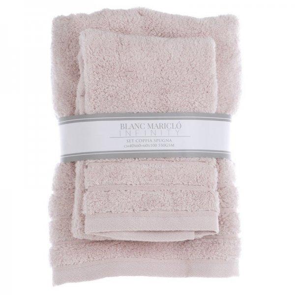 Komplet ręczników - pudrowy róż |  |