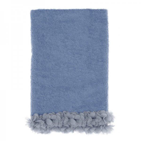 Ręcznik kąpielowy - ciemnoniebieski 80cm/190cm | dodatki |