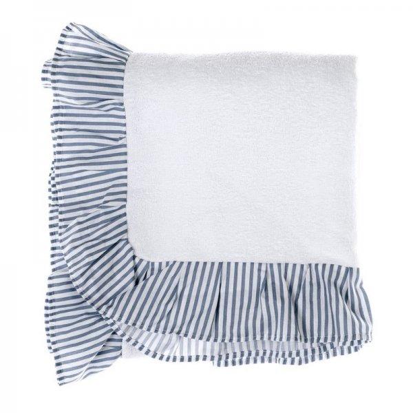 Ręcznik plażowy - biały 80/190 | dodatki |