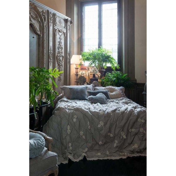 Narzuta w kwiaty | koce-poduszki-pledy |