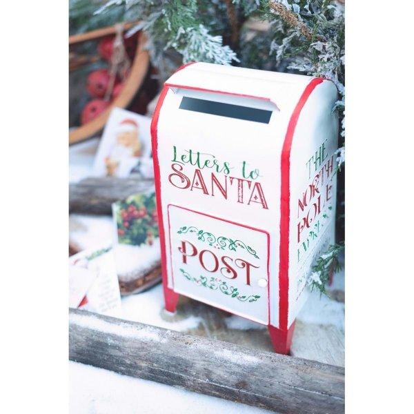 Pojemnik na listy do Świętego Mikołaja | dodatki |