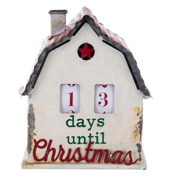 Domek dekoracyjny z kalendarzem | dodatki |
