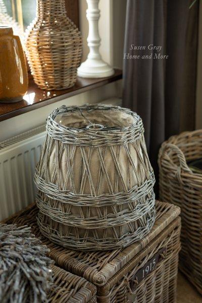 Abażur wiklinowy do lampy wiszącej | lampy-zyrandole-abazury |