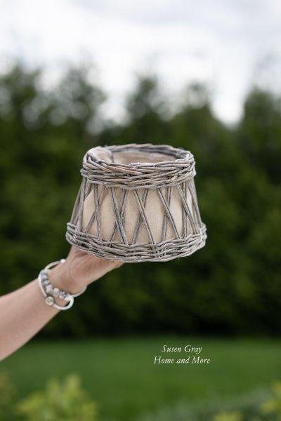 Abażur wiklinowy | lampy-zyrandole-abazury |