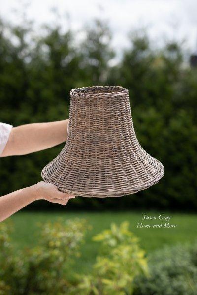 Abażur rattanowy | lampy-zyrandole-abazury |