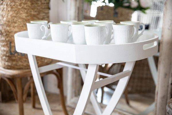 Stolik owalny - biały | stoly-stoliki-krzesla-fotele |