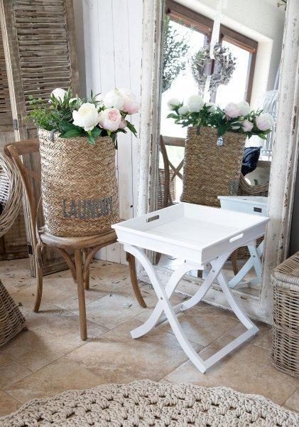 Stolik kwadratowy - biały | stoly-stoliki-krzesla-fotele |