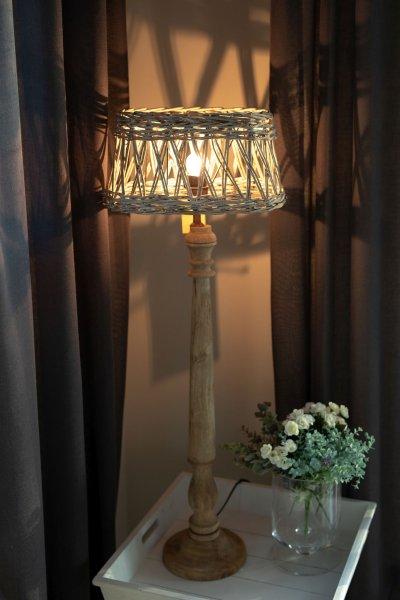 Abażur wiklinowy owalny | lampy-zyrandole-abazury |