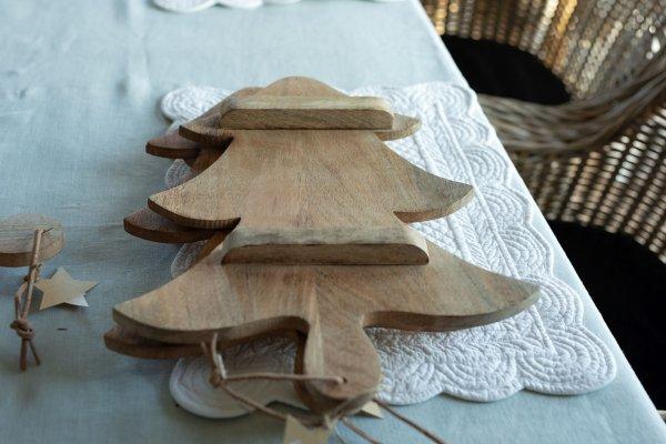 Deska drewniana X-mas tree | boze-narodzenie |