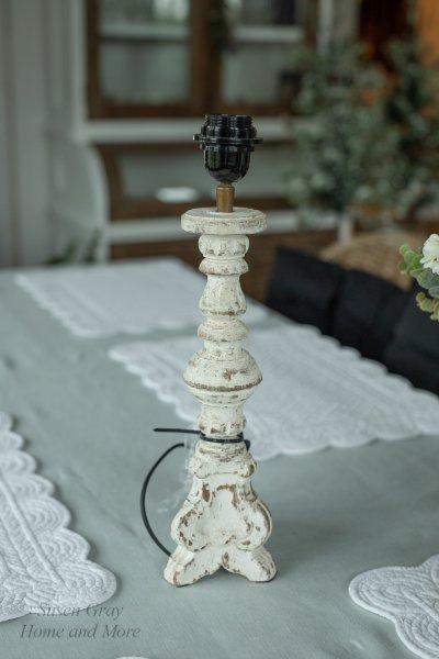 Rustykalna podstawa do lampy | lampy-zyrandole-abazury |